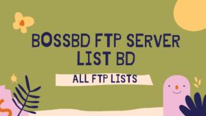 BOSSBD FTP SERVER BD