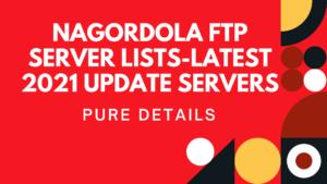 nagordola ftp server